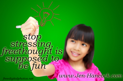 Freethought is Fun - kids like to learn it