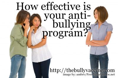 How effective is your anti-bullying program