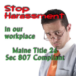 Maine Title 26 Sec 807 Compliance Training