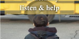 Book - How to talk to your child's school about bullying so they will actually listen and help