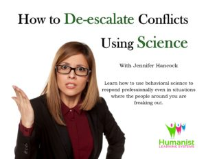 How to de-escalate conflicts using science