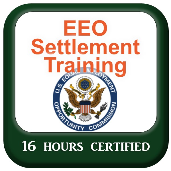 EEO Settlement Training - 16 hours online