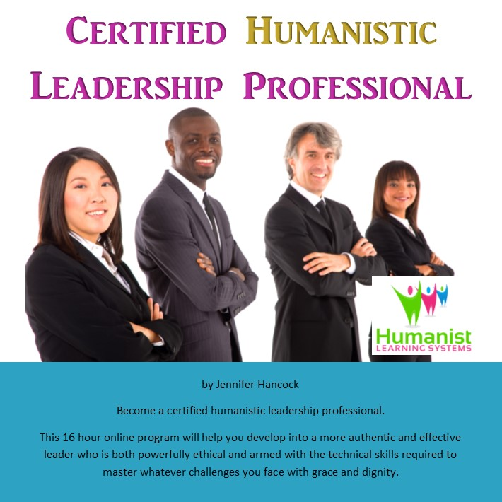 Become a certified Humanistic Leadership Professional
